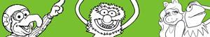 Ζωγραφική Muppet ζωγραφιές