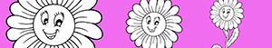 Ζωγραφική Λουλούδι ζωγραφιές