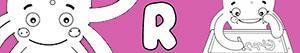 Ζωγραφική Ονόματα κορίτσι με το γράμμα R ζωγραφιές