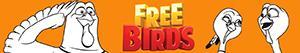 Ζωγραφική Free Birds ζωγραφιές