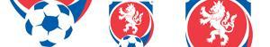 Ζωγραφική Εμβλήματα της Τσεχίας Πρωτάθλημα Ποδοσφαίρου ζωγραφιές